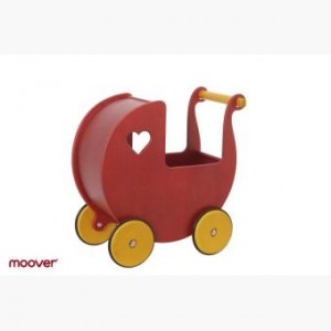 Moover Puppewagen rot