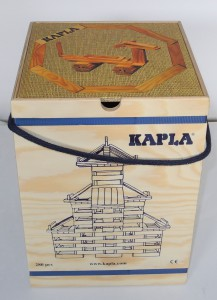 Kapla 280 mit Baubuch beige