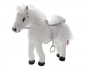 Götz Pferd weißer Blitz