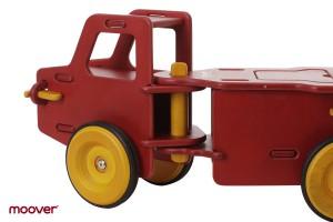 Junior Truck, Rutscherauto aus Holz rot